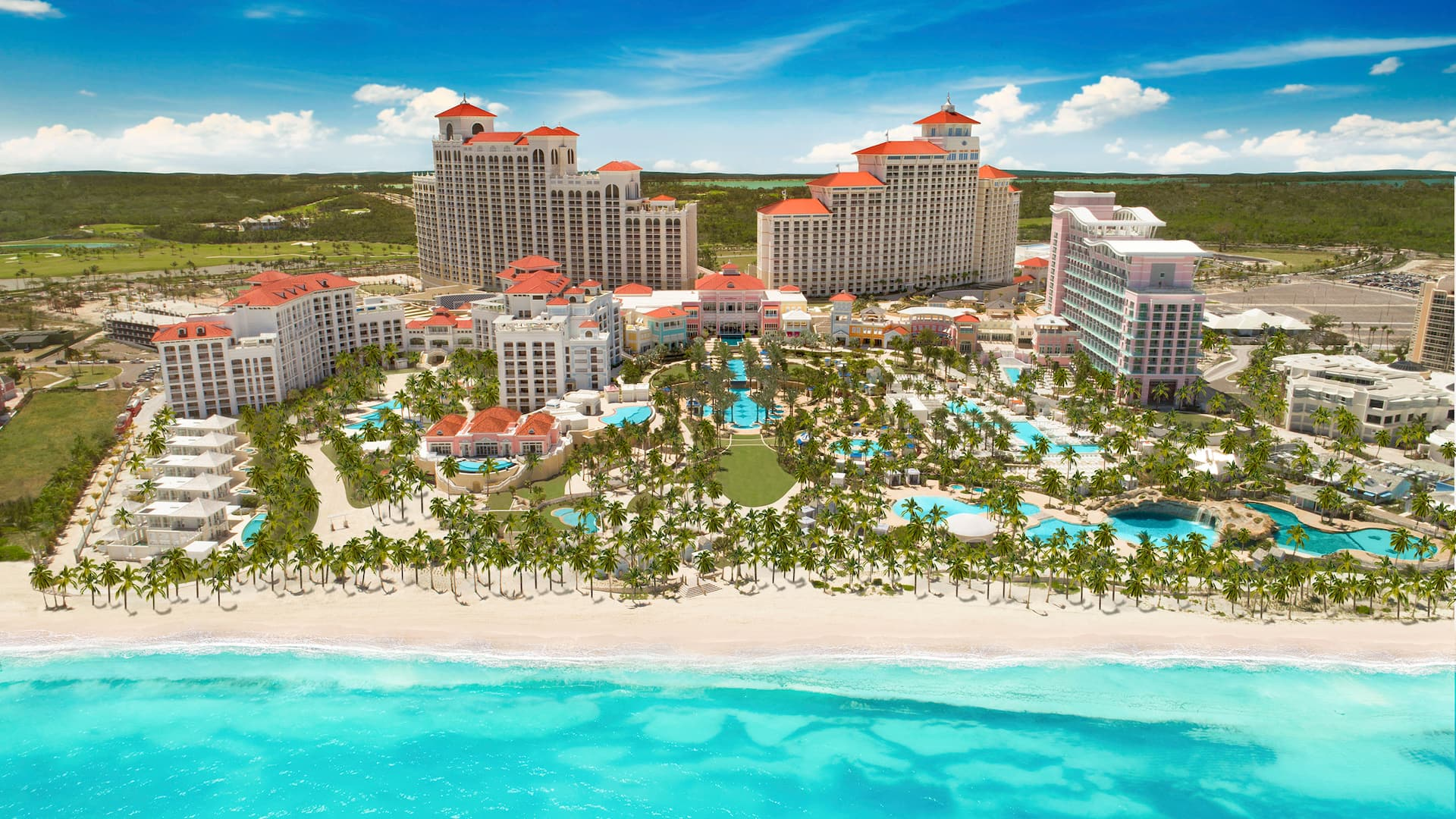East and West Towers Grand Hyatt Baha Mar