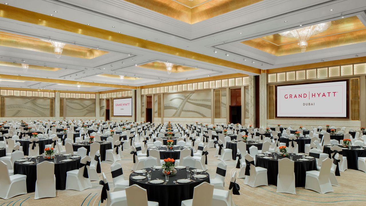Grand Hyatt Dubai Baniyas Ballroom