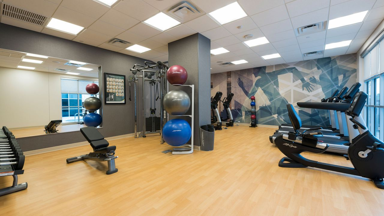 Hyatt House Austin / Downtown 24-Hour Workout Room