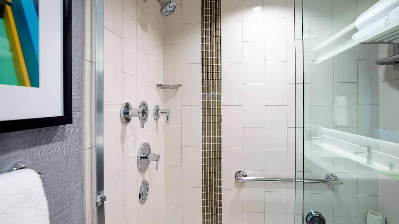 King suite spa shower