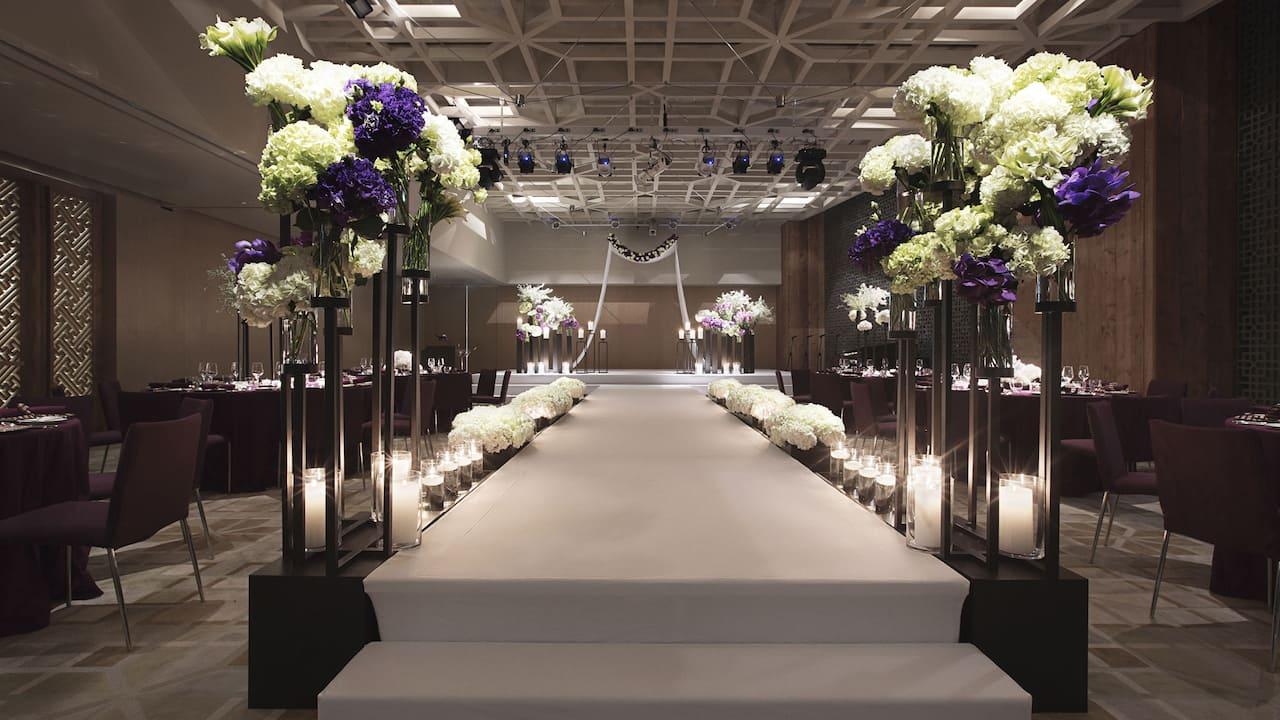 Wedding Ballroom Park Hyatt Busan Hotel