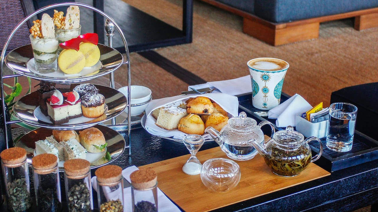 Afternoon Tea at Veranda Lounge & Bar Grand Hyatt Bali