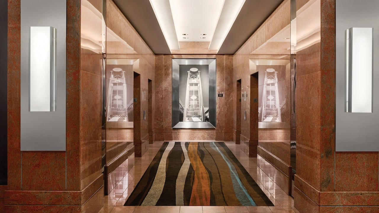 First Floor Elevator Foyer