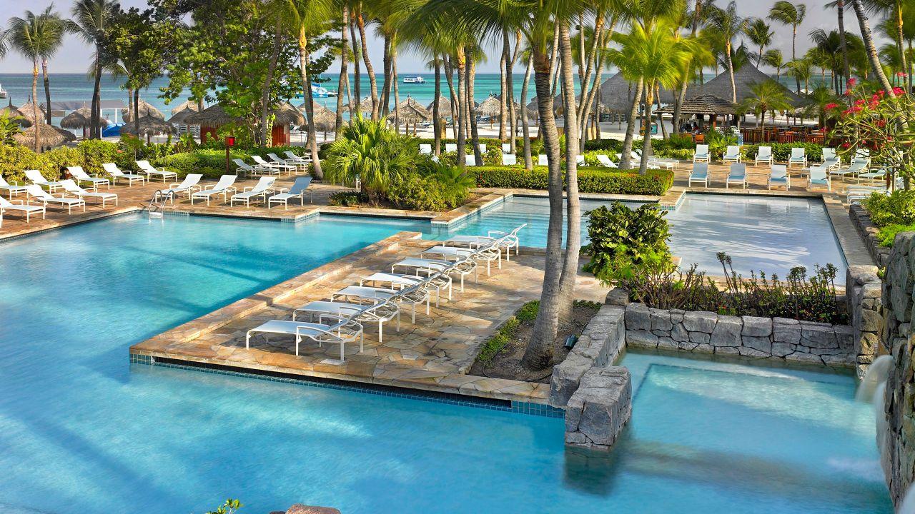 Pool at Hyatt Regency Aruba Resort Spa and Casino