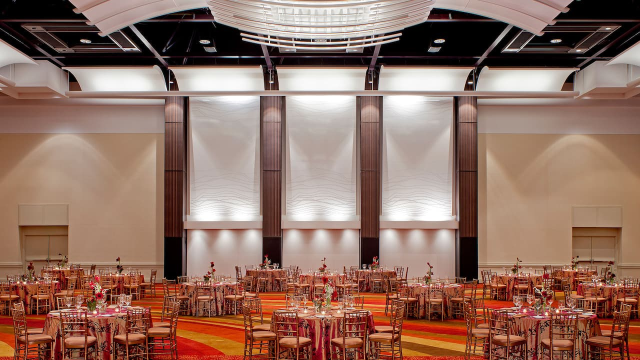 Ballroom Banquet Set-Up Hyatt Regency Atlanta Embassy Hall