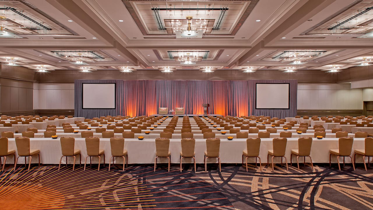 Large Lecture Conference Hyatt Regency Atlanta