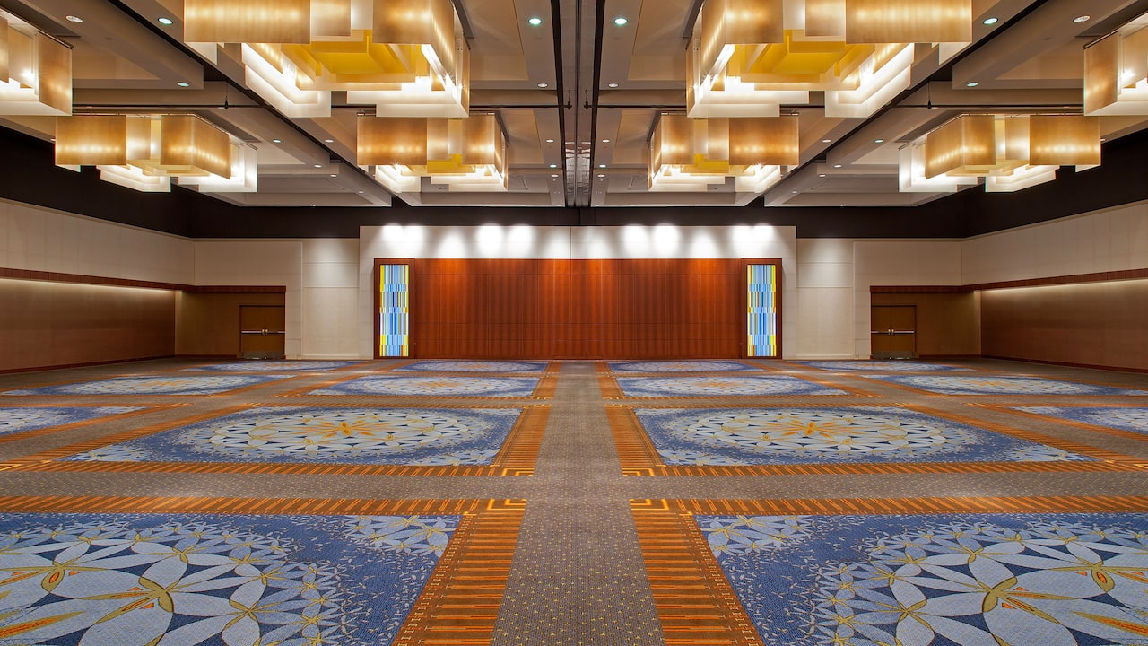 Empty Ballroom Hyatt Regency Atlanta