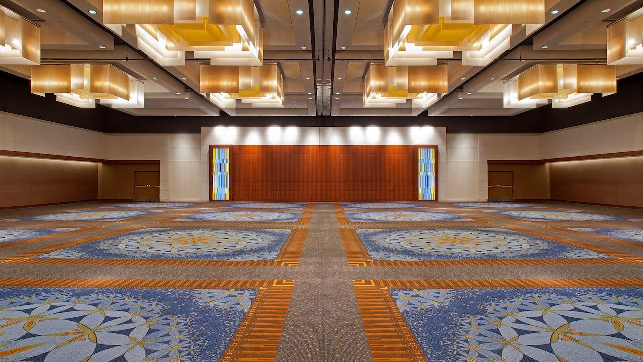 Empty Ballroom Hyatt Regency Atlanta Ballroom Banquet
