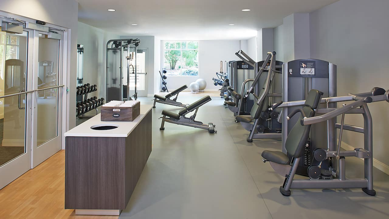 Fitness Center Hyatt Regency Atlanta Perimeter at Villa Christina