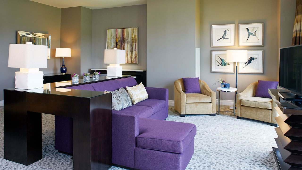 Villa Suite Living Hyatt Regency Atlanta Perimeter at Villa Christina