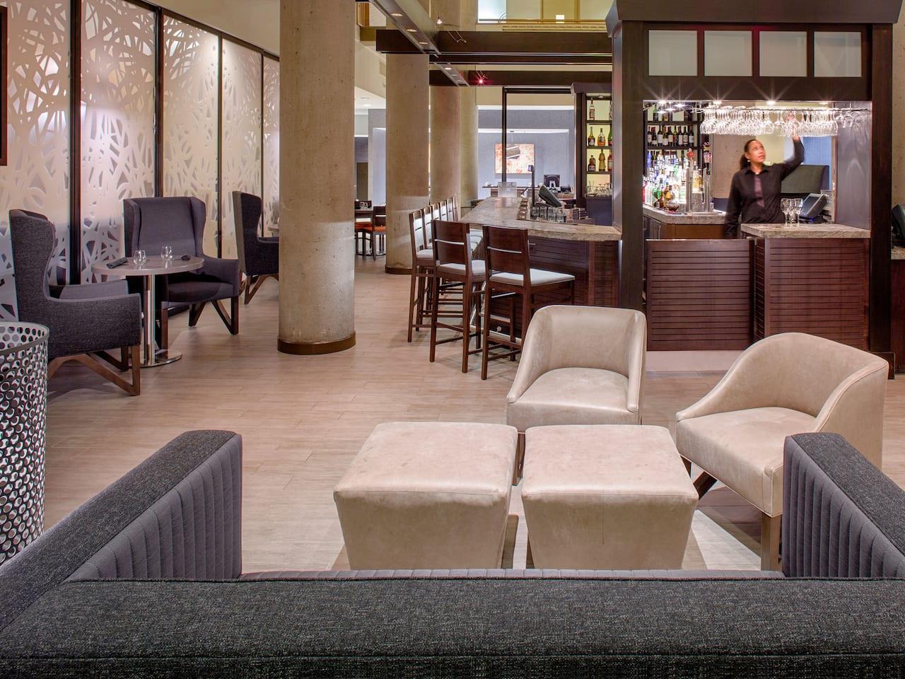 Bar at Hyatt Regency Baltimore Inner Harbor