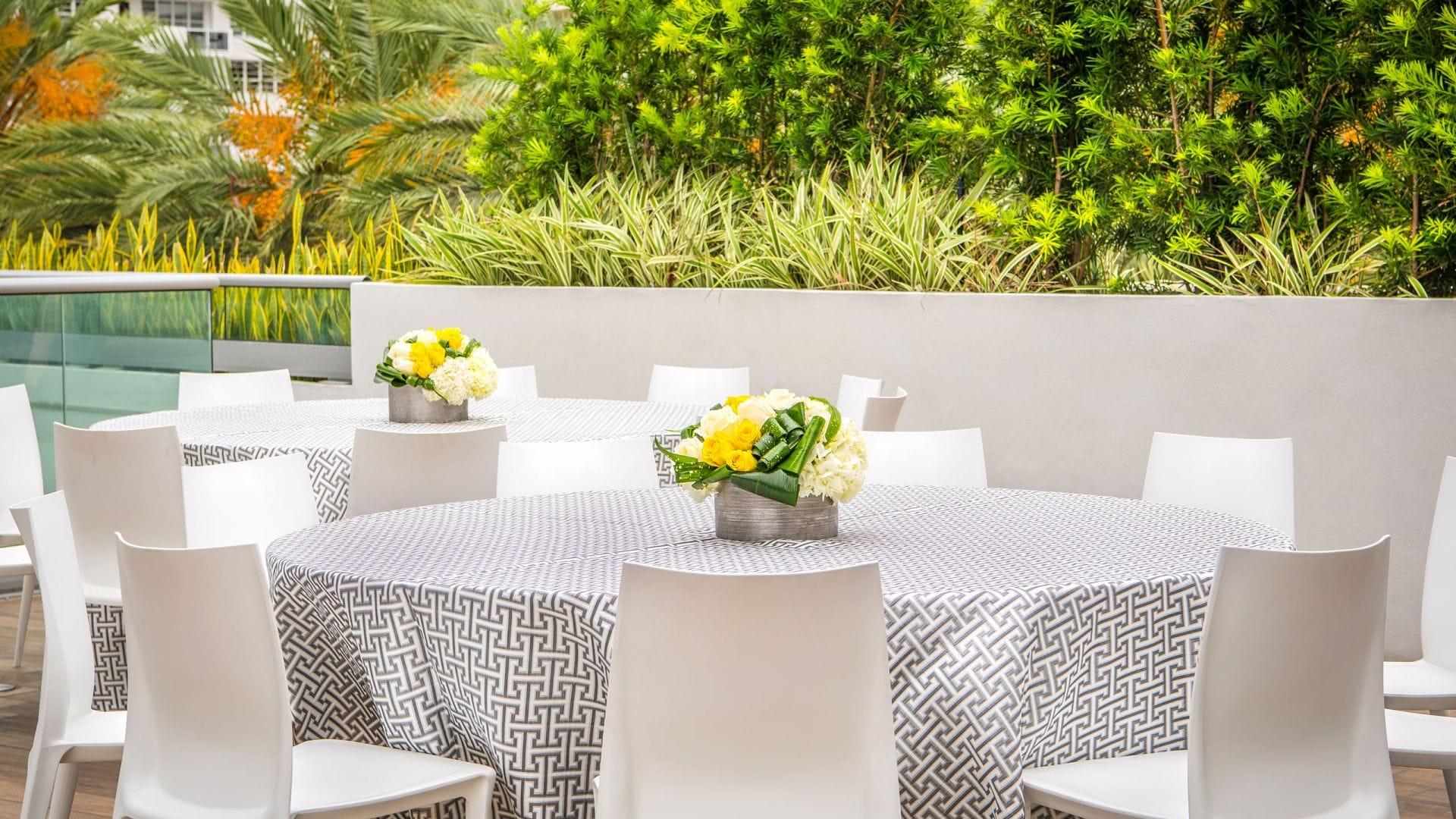 Poolside Table