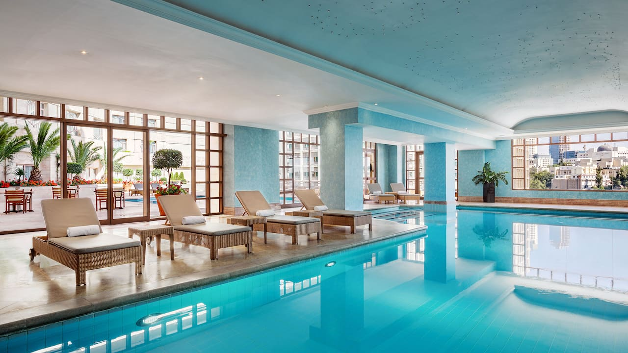 Hyatt Grand Amman indoor pool