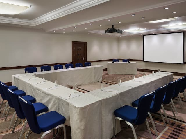 Amman meeting room set up
