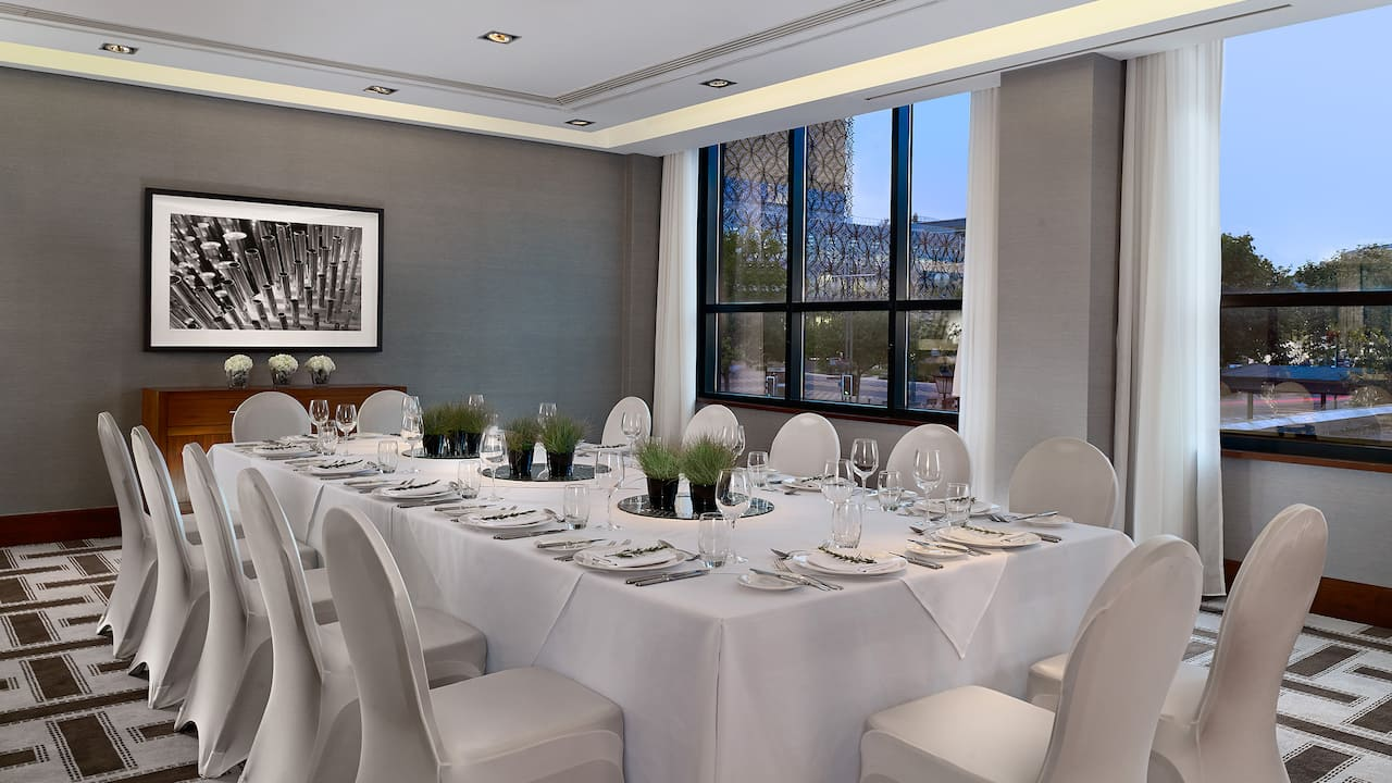 Private Dinner Birmingham City Centre | Hyatt Regency Birmingham