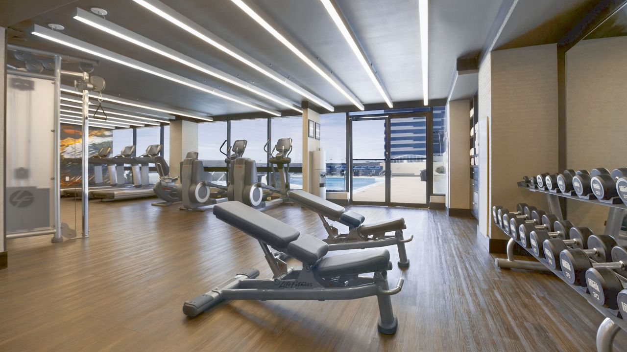 Hyatt Regency Birmingham – The Wynfrey Hotel Fitness Center