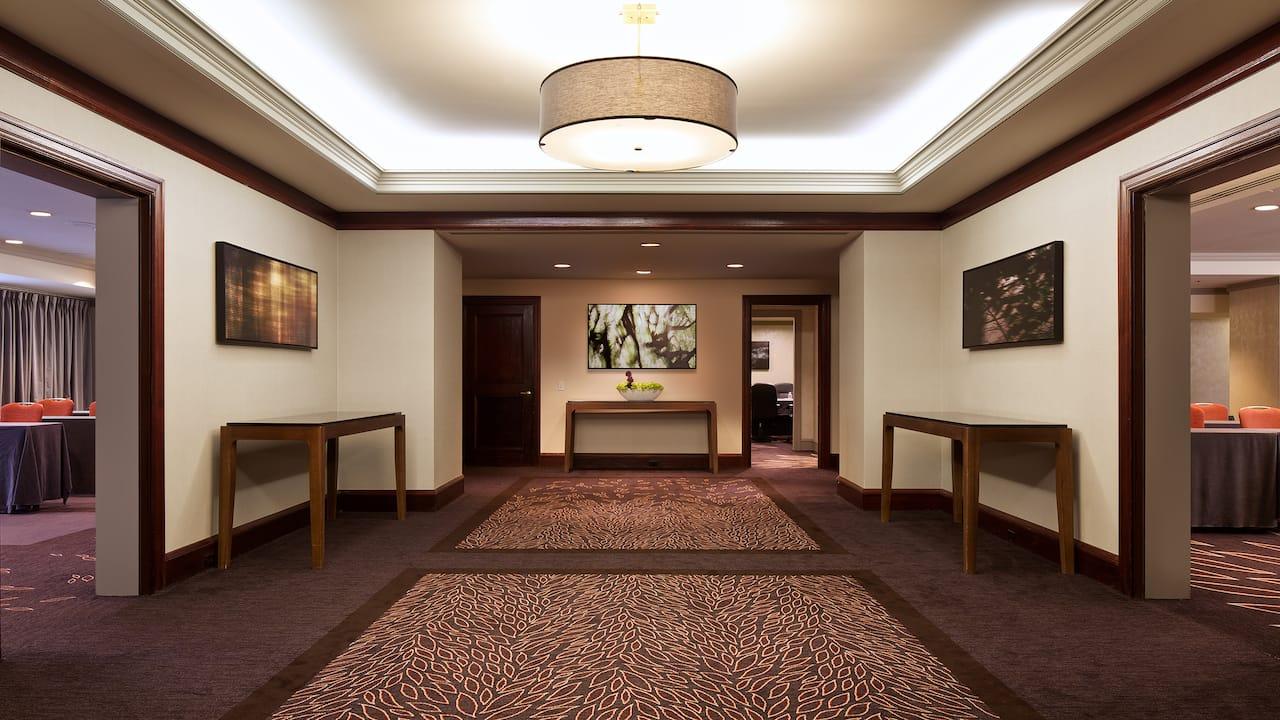 Lower Lobby Doors Open