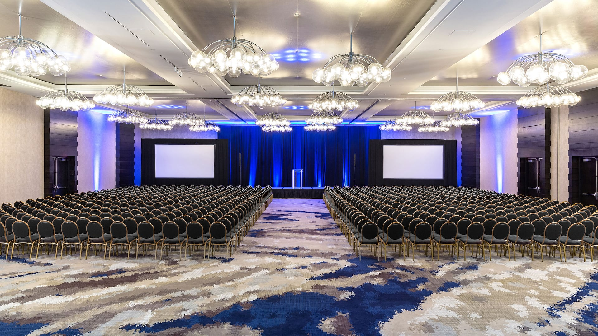 Spacious theater style event venue