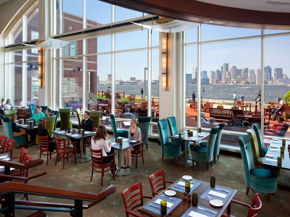 Harborside Grill Patio Interior