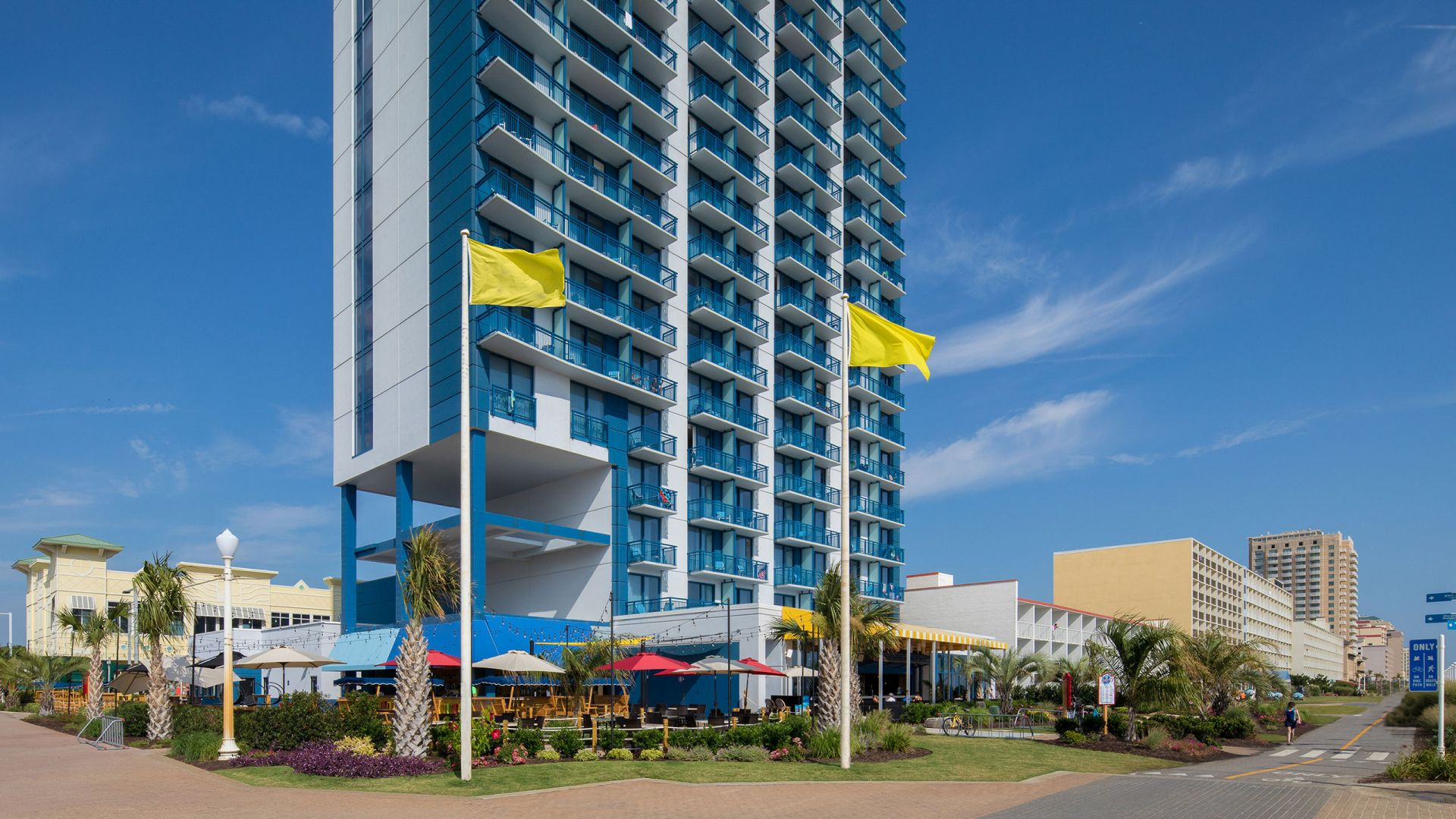Hyatt House Virginia Beach / Oceanfront Exterior