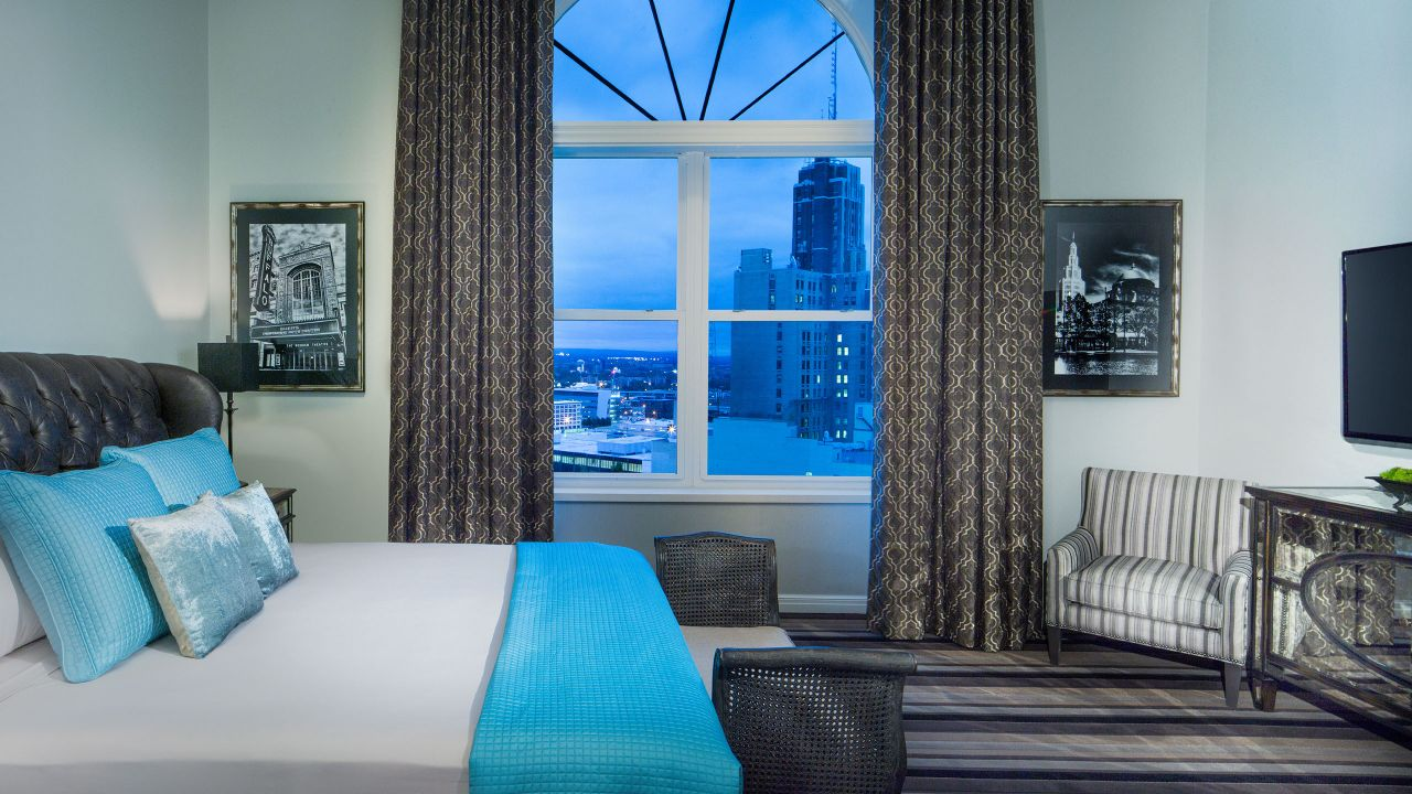 Penthouse Bedroom View