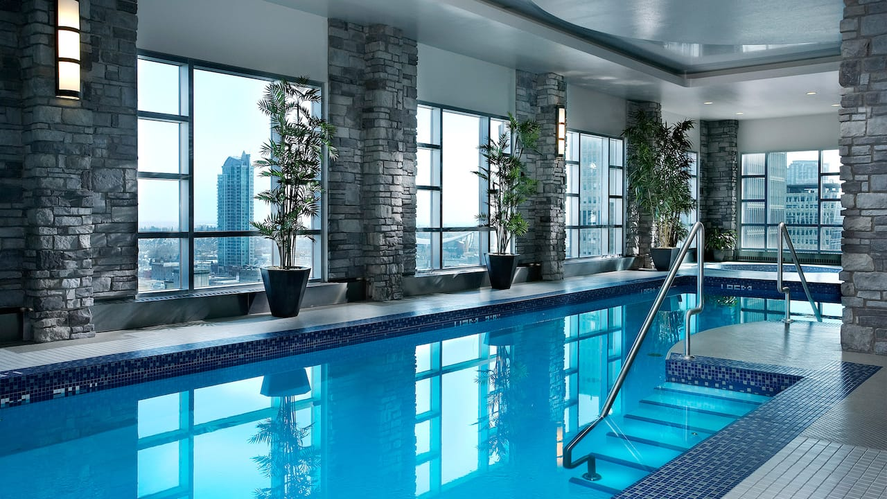Hyatt Regency Calgary Indoor Pool