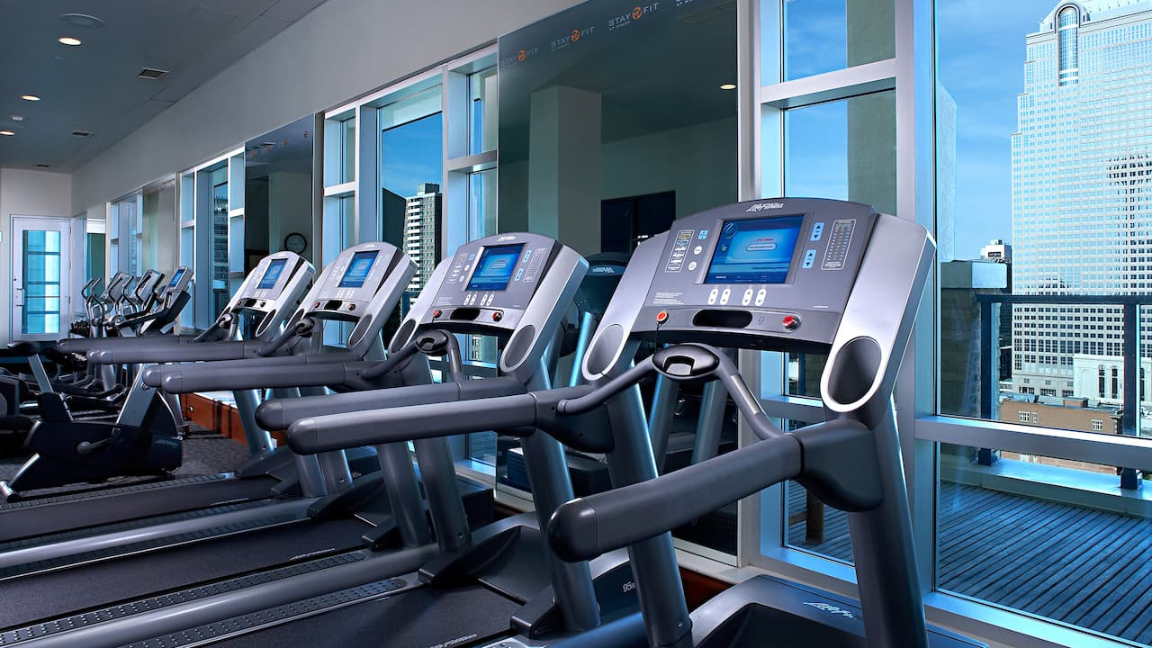 Hyatt Regency Calgary Fitness Center