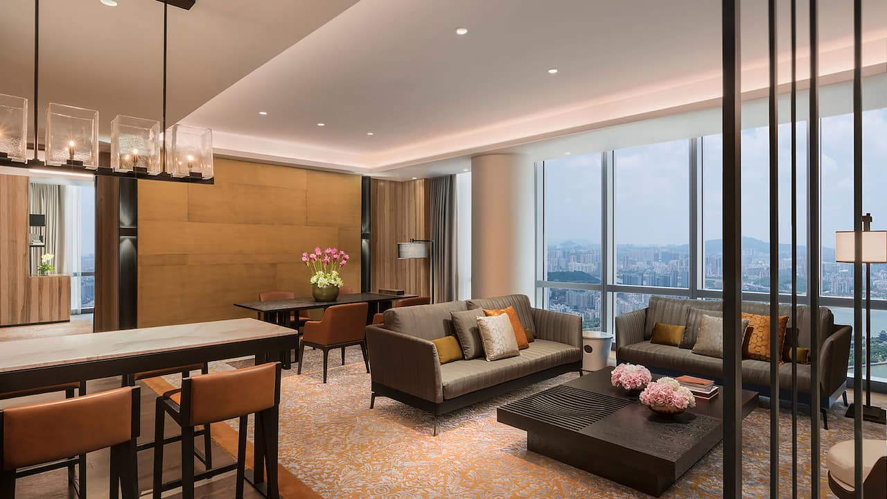 Grand Hyatt Changsha Grand Executive Suite Livingroom