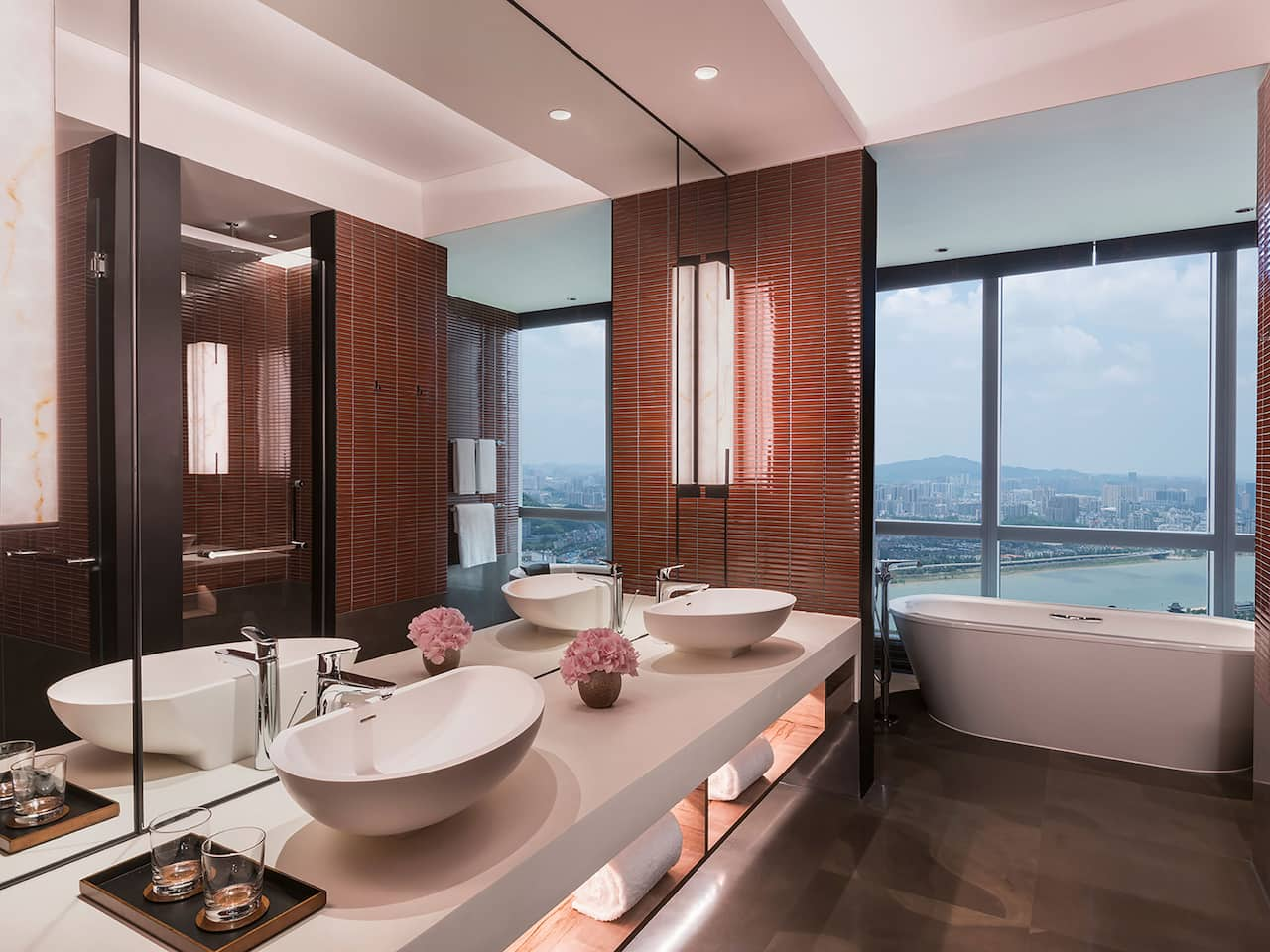 Grand Hyatt Changsha Grand Suite Bathroom