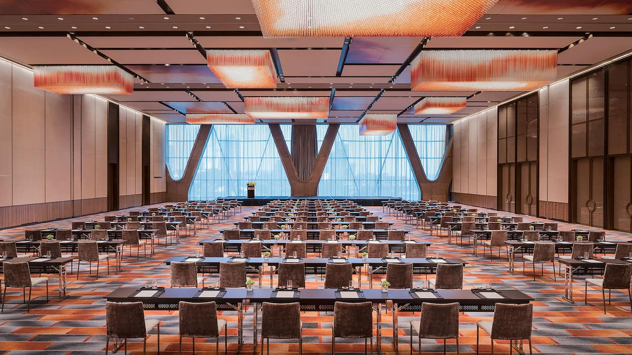 Grand Hyatt Changsha Grand Ballroom Classroom