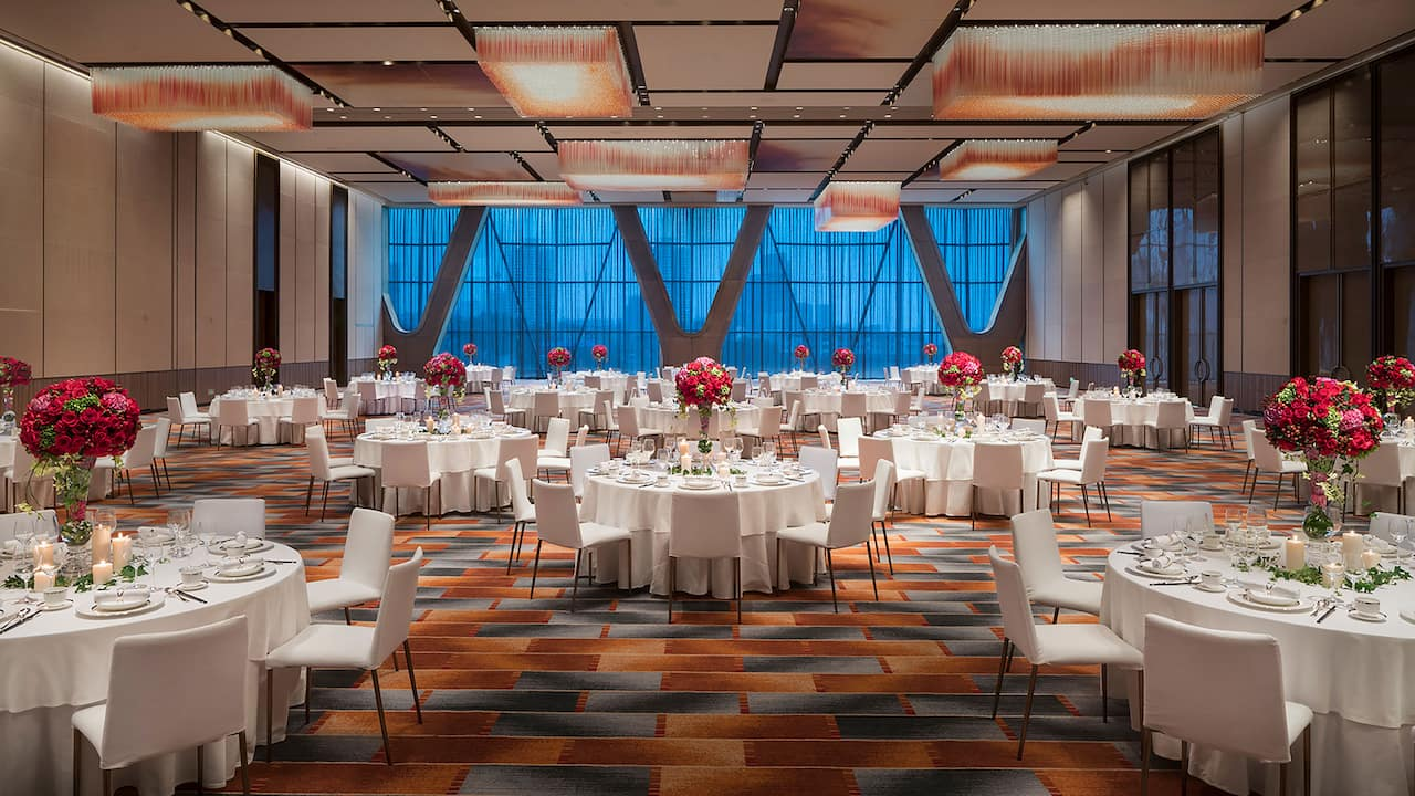 Grand Hyatt Changsha Grand Ballroom Wedding