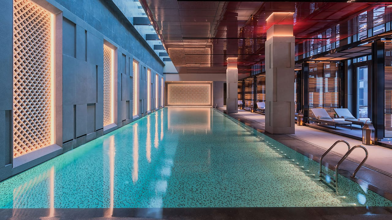 Grand Hyatt Changsha Indoor Pool