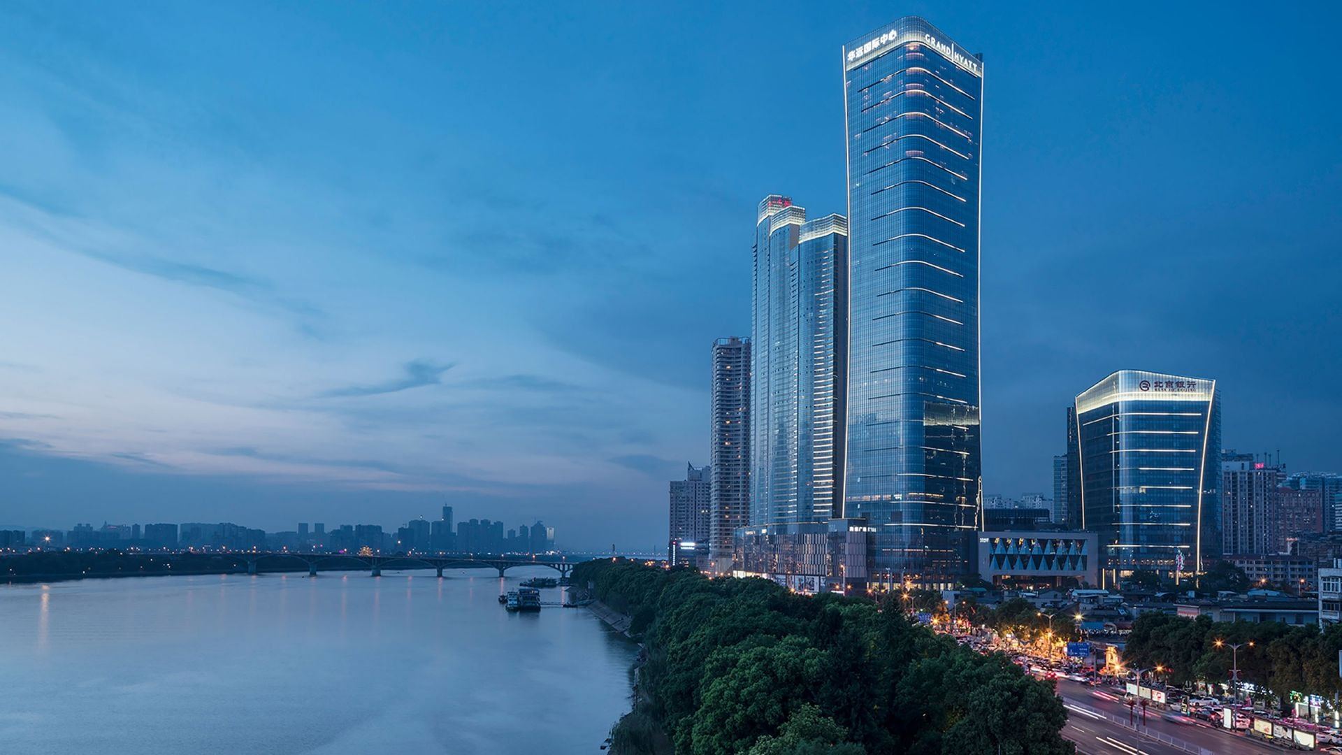 Grand Hyatt Changsha Exterior