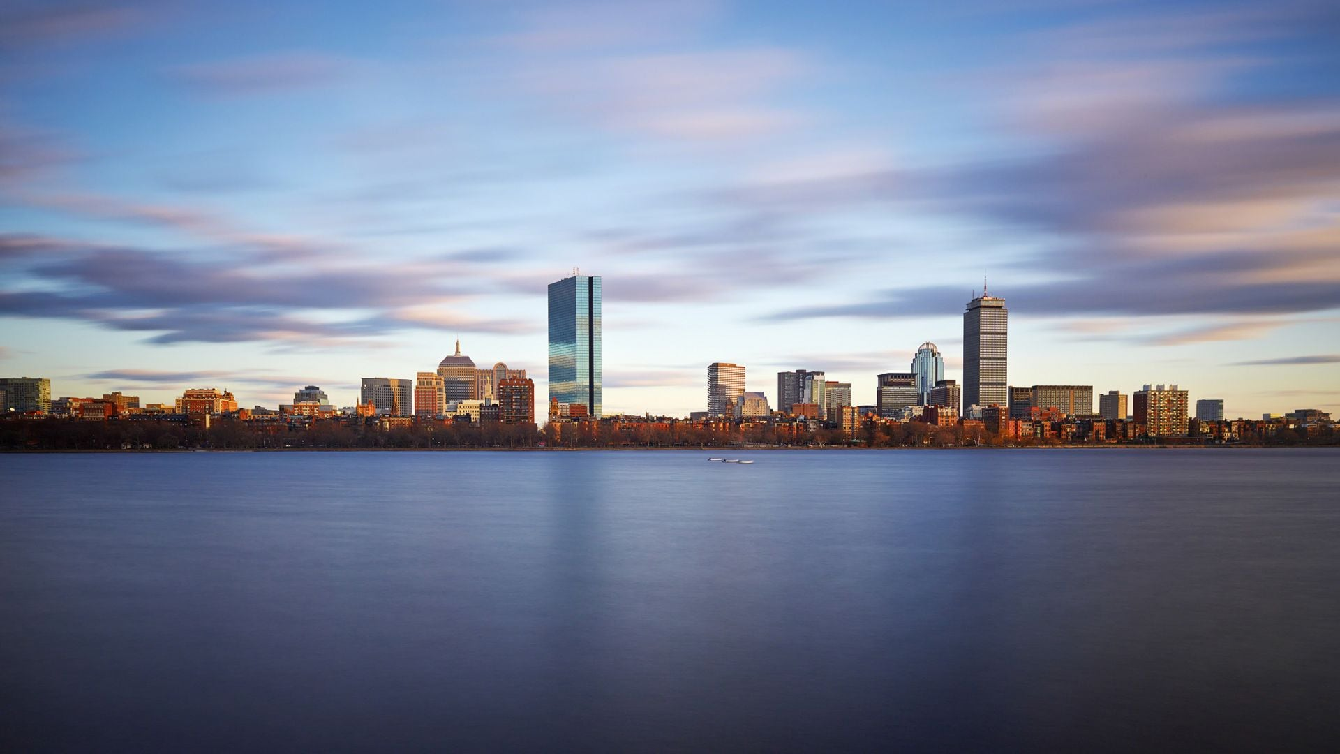 Boston Back Bay Skyline