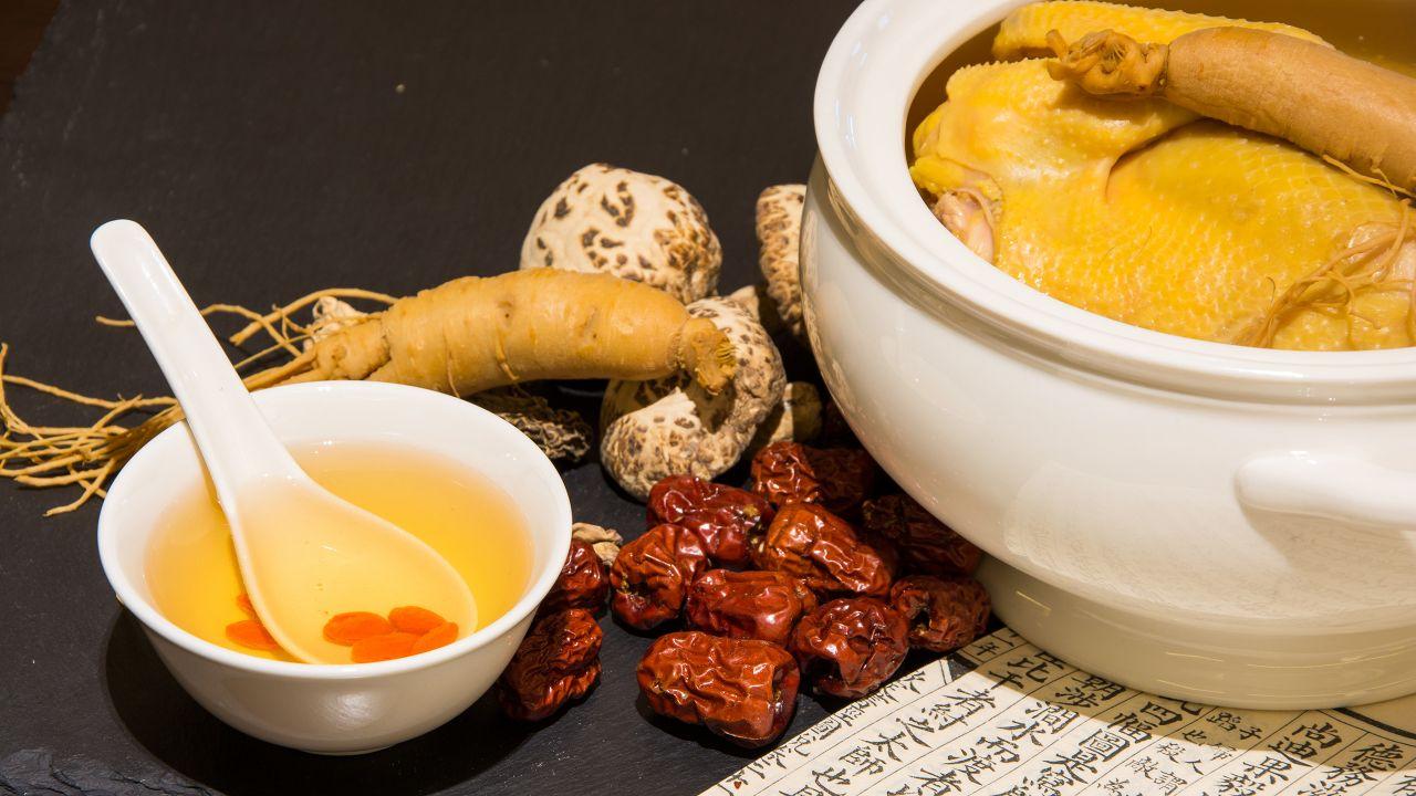 ginseng chicken soup