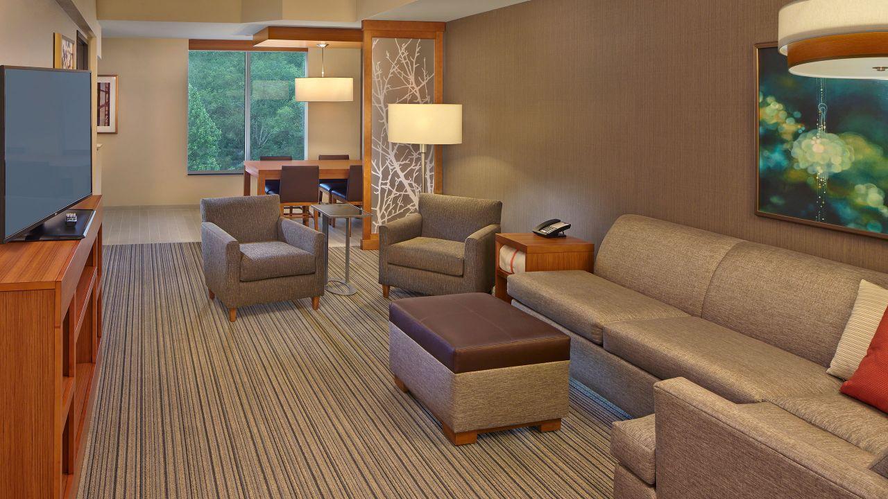Hyatt Place Suite Living Area