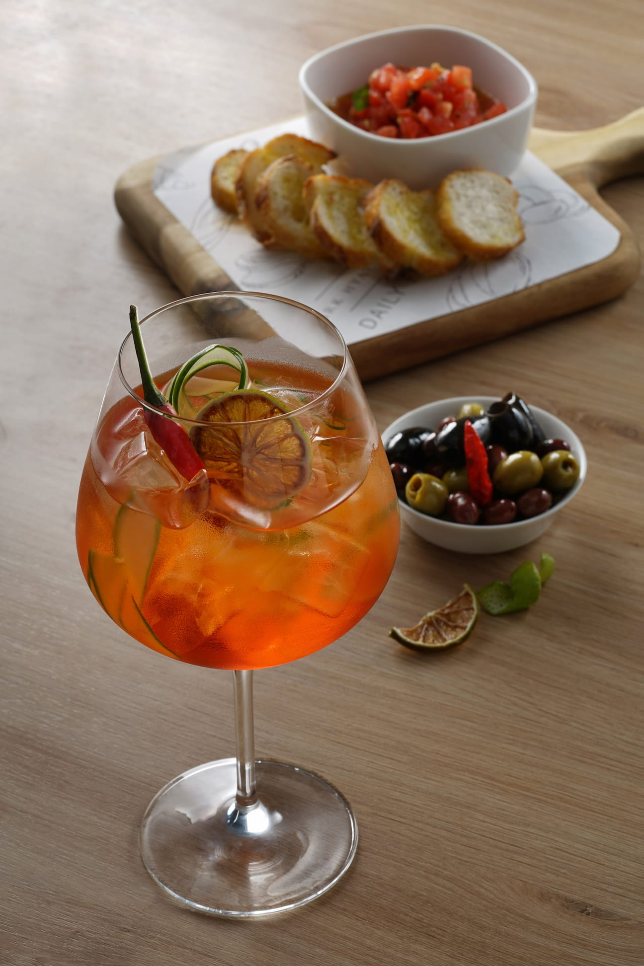 Park Hyatt Saigon Restaurant and Bar (Drink Menu-Spicy Spritz)