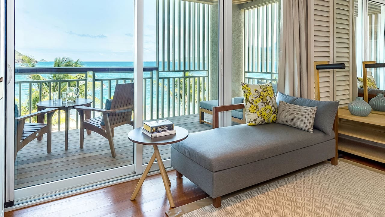 Park Hyatt St. Kitts Christophe Harbour Room Living Space