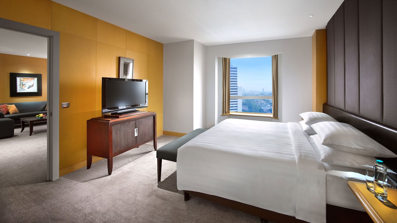 1 Bedroom Grand Suite with City and Pool View, The Grand Hyatt Hotel, Jakarta