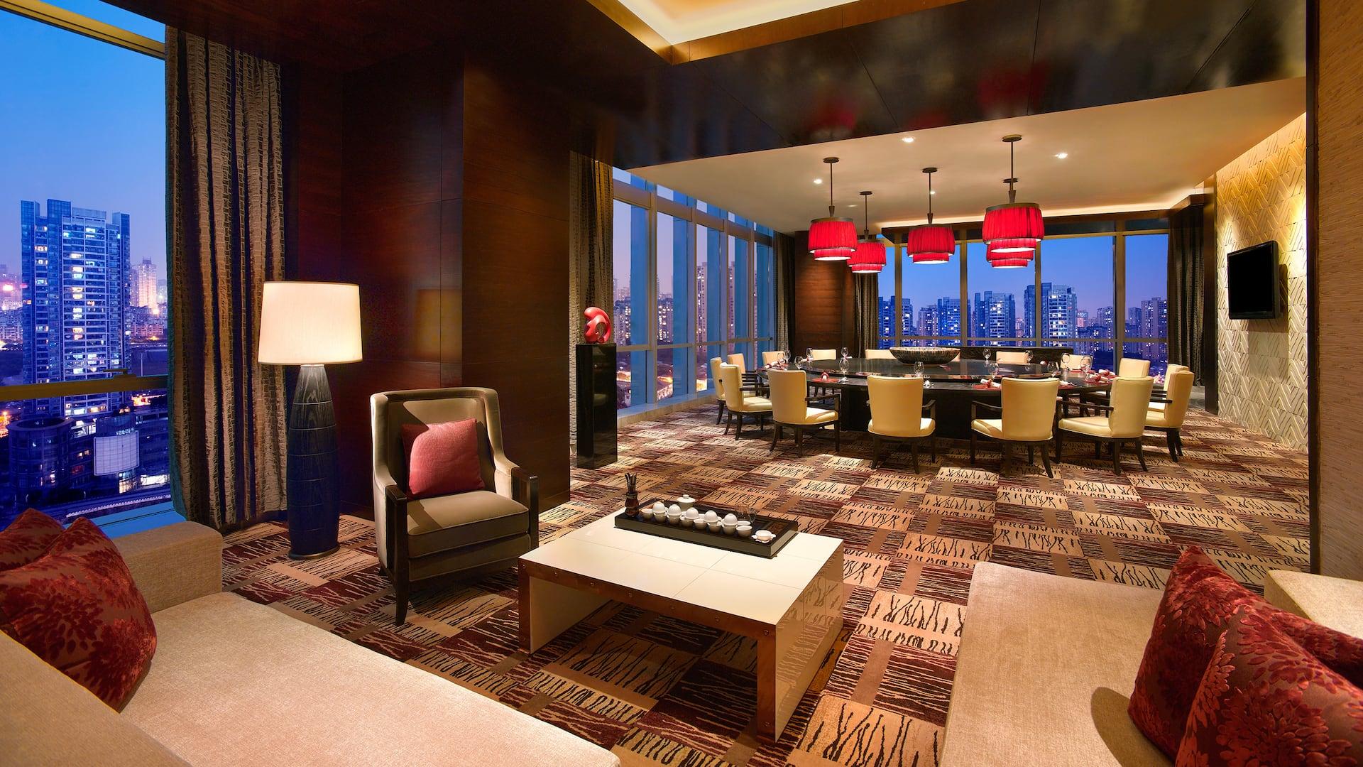 Hyatt Regency Chongqing Private Dining Room