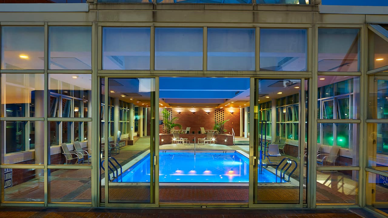 Hyatt Regency Cincinnati Hotel Pool