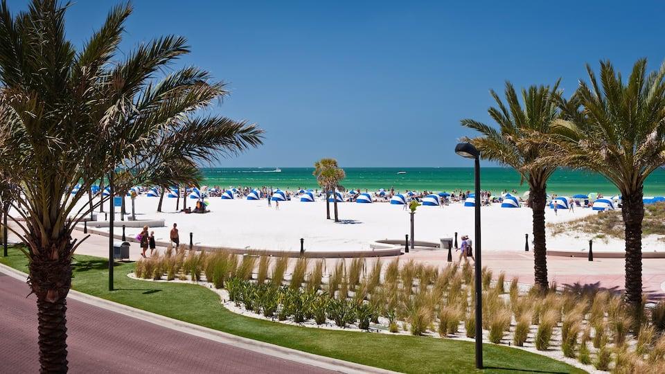 Florida Beach Wedding at Hyatt Regency Clearwater Beach Resort