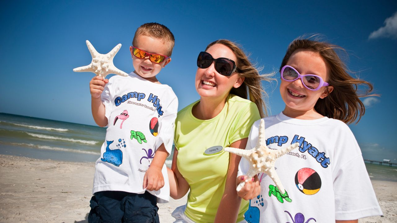 Kids Camp at Hyatt Regency Clearwater Beach Resort