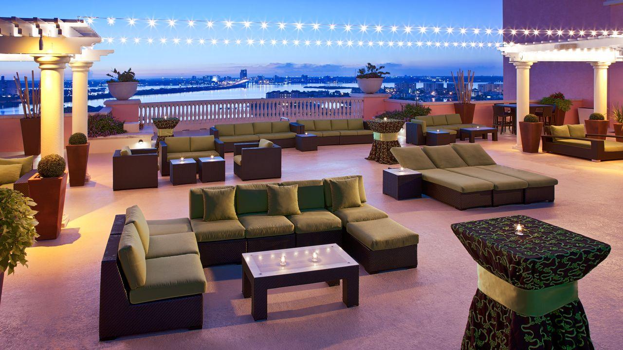 Hyatt Regency Clearwater Beach Resort Outdoor Reception Sky Terrace