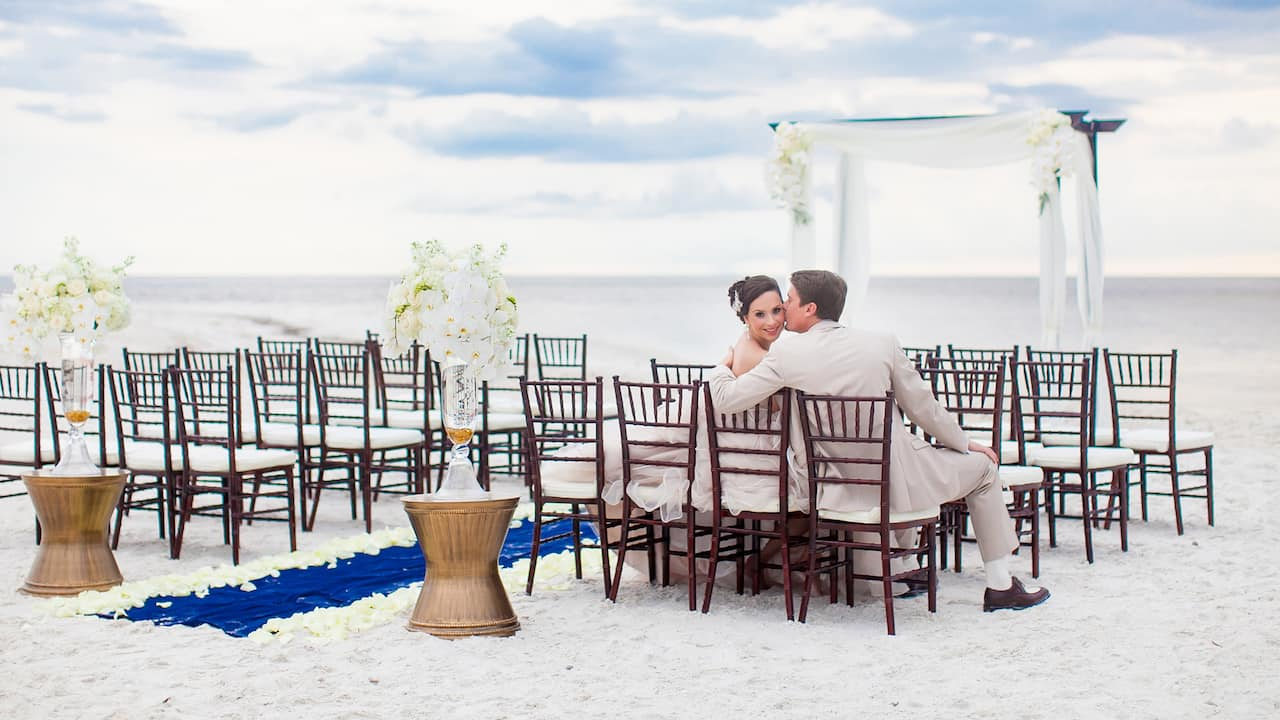 Beach and destination weddings