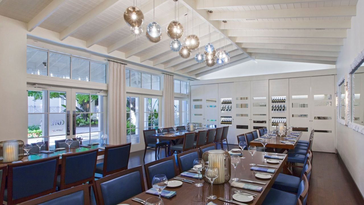 The Cove Private Dining Room