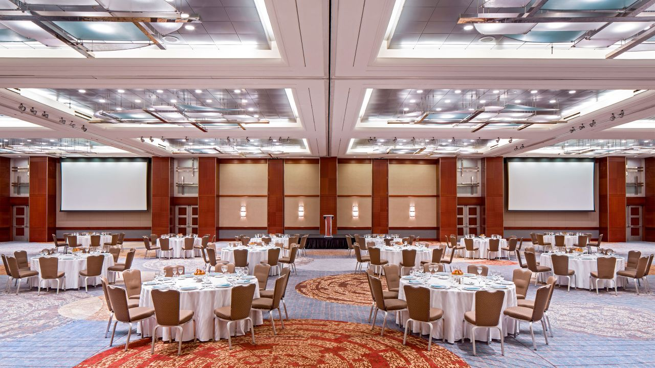 Grand Ballroom Foyer Setup
