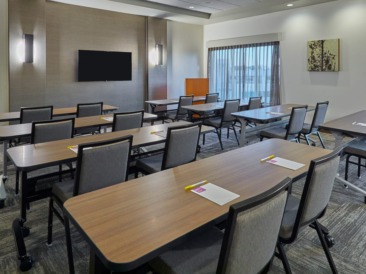 Our Eugene, Oregon meeting room