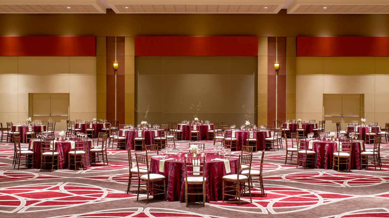 Hyatt Regency Columbus Wedding Ballroom