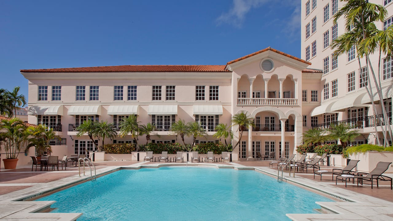 Outdoor Pool Hyatt Regency Coral Gables